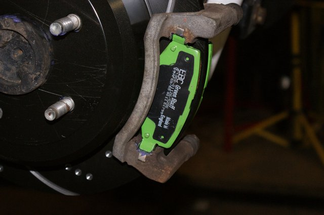 EBC Brake Install