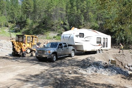 Fairmont Hot Springs Clean-up