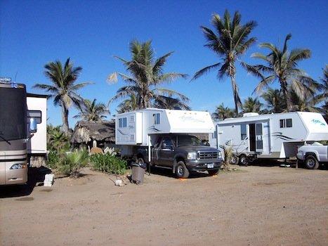 Caravan in Mexico
