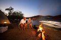 Boat Camping on Lake Havasu