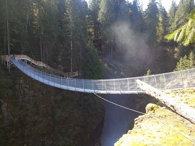 Elk Falls Suspension Bridge Opens Suncruiser