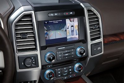 2015 Ford F-150 360-Degree Camera View