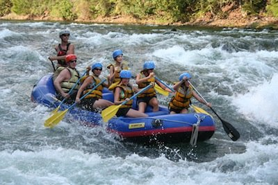 Adams River White Water Adventure