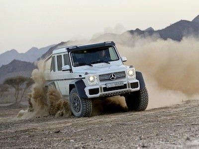 Mercedes 4WD Pickup