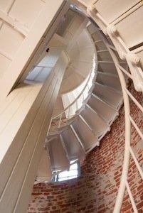 Point Sur_Light_Station_–_staircase photo Frank Schulenburg.jpg
