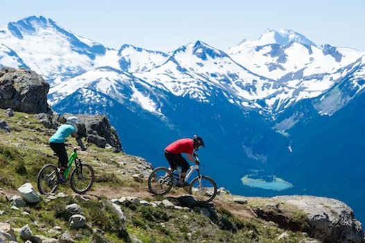 Biking at Whistler
