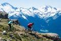 Biking at Whistler
