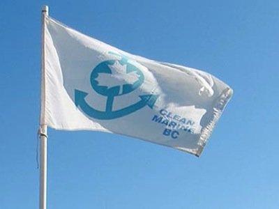 Clean Marine BC flag