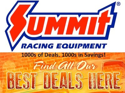 Summit Racing Equipment Clearance Deals