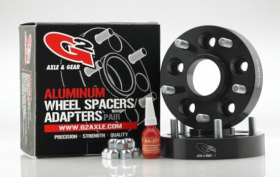 New G2 Aluminum Wheel Spacers  and Adapters