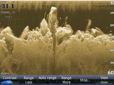 3-D Sonar from Lowrance