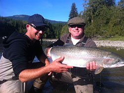 Swiss Guys with Steelhead