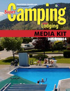 Super Camping Media Kit Cover 2013