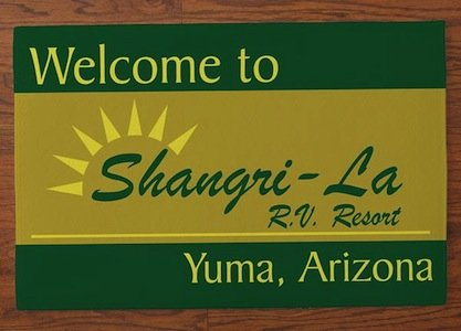Shangri La RV Resort Logo