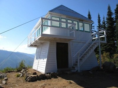 Nahatlatch Fire Lookout Build